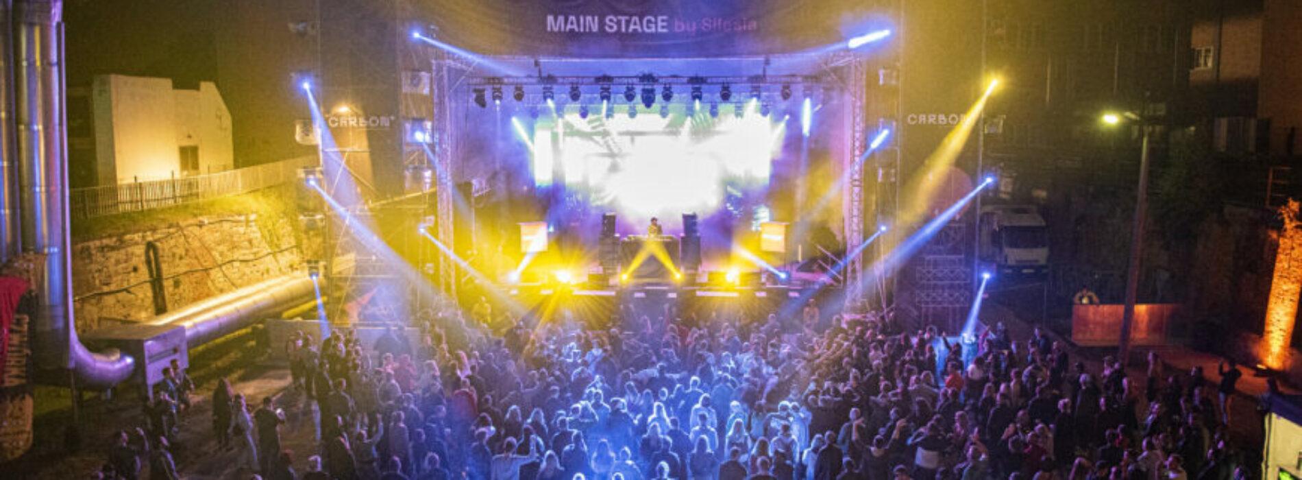 Carbon Silesia Festiwal – najlepsi twórcy muzyki elektronicznej zagrali w Zabrzu